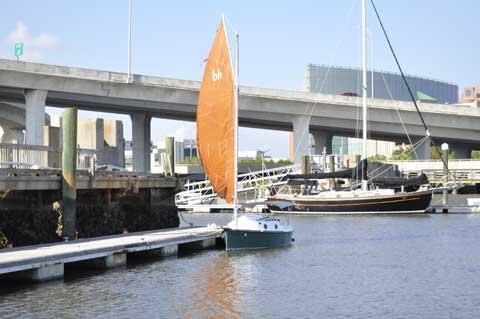 Nimble Bay Hen 21', 1992, Charleston South Carolina sailboat