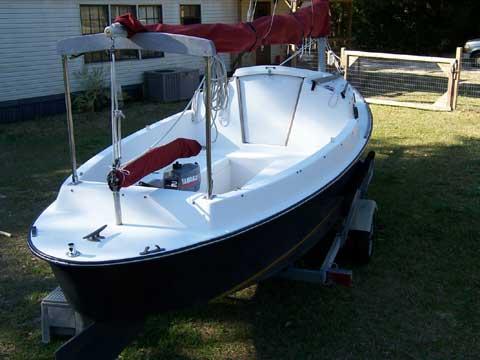 Bay Hen 21', 1994, Perdido Beach, Alabama sailboat