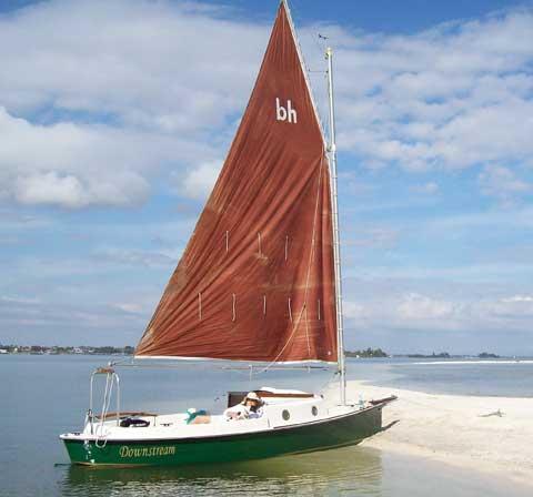 Bayhen 21, 1986 sailboat