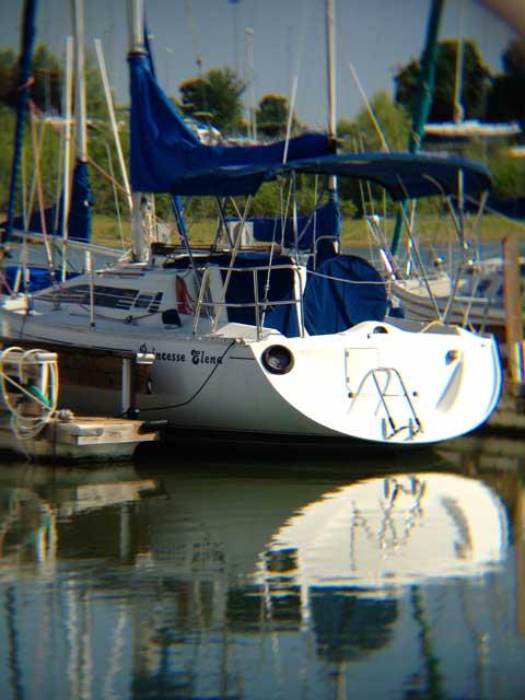 Beneteau 285, 1988, Grapevine Lake, Texas sailboat