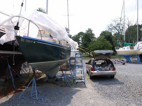 Bristol 27, 1975 sailboat