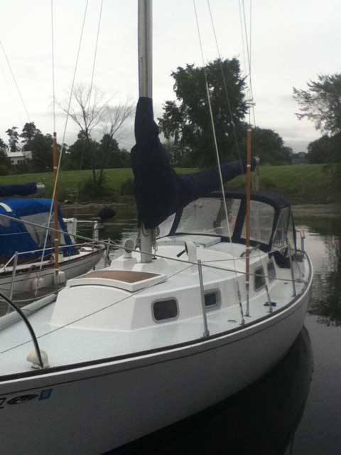 Bristol 29', 1968 sailboat