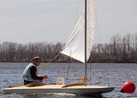 Butterfly, 12 ft., 1974 sailboat