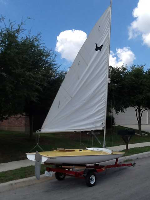 Barnett Butterfly San Antonio Texas Sailboat For Sale