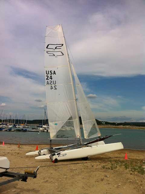 AHPC C2, 2010 sailboat