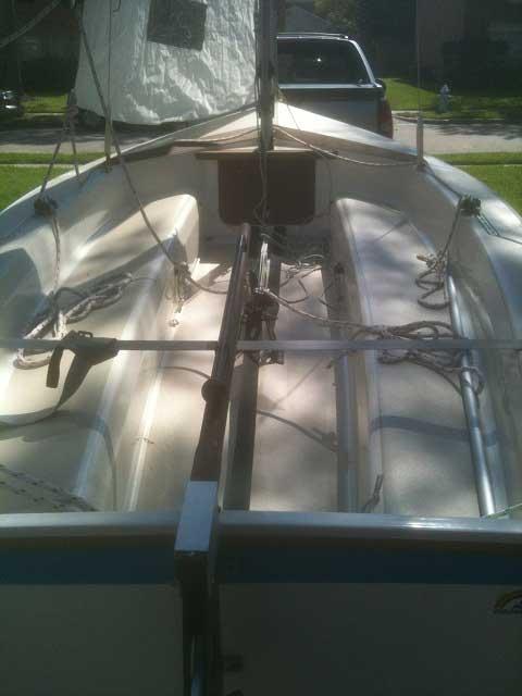 Catalina Capri 14.2, 1986, Missouri City, Texas sailboat