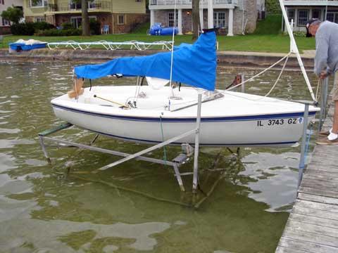 Capri 14.2, 1988 sailboat