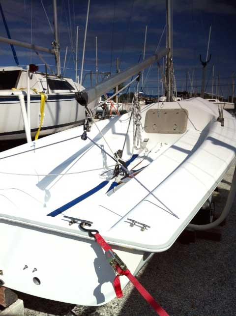 Catalina Capri 16.5, 1998, St. Petersburg, Florida sailboat