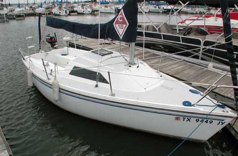 Catalina Capri 18, 2004, Lewisville, Texas sailboat