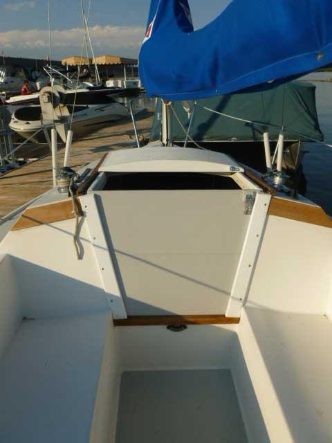 Capri 18, 1987 sailboat