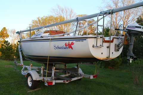 Capri 22, 1988, St. Paul, Minnesota sailboat