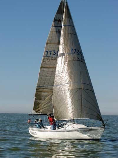 Catalina Capri 25, 1981, Great Salt Lake, Utah sailboat