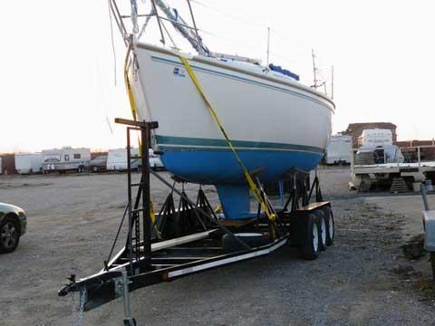 Catalina Capri 26, 1991, Lake Ray Hubbard, Dallas, Texas sailboat