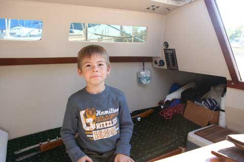Catalina 22, 1987, Lake Livingston, Texas sailboat