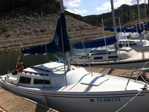 Catalina 22, 1984, Lake Travis, Texas sailboat