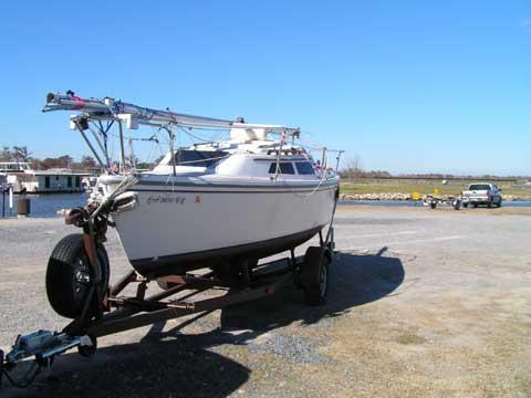 Catalina 22, 1988, Prairieville, Louisiana sailboat