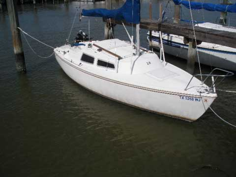 Catalina 22, 1977, Houston, Texas, sailboat for sale from ...