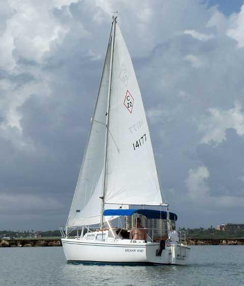 Catalina 22, 1983 sailboat