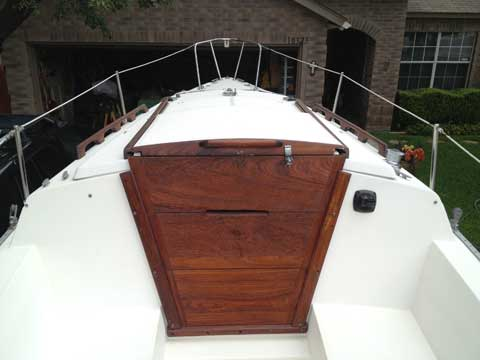 Catalina 22 Wing Keel, 1994 sailboat