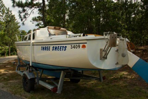 Catalina 22, 1982, Pinehurst, North Carolina, sailboat for