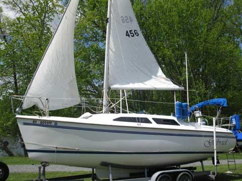 Catalina 250, 2000, Lake Sagandaga, Albany, New York sailboat
