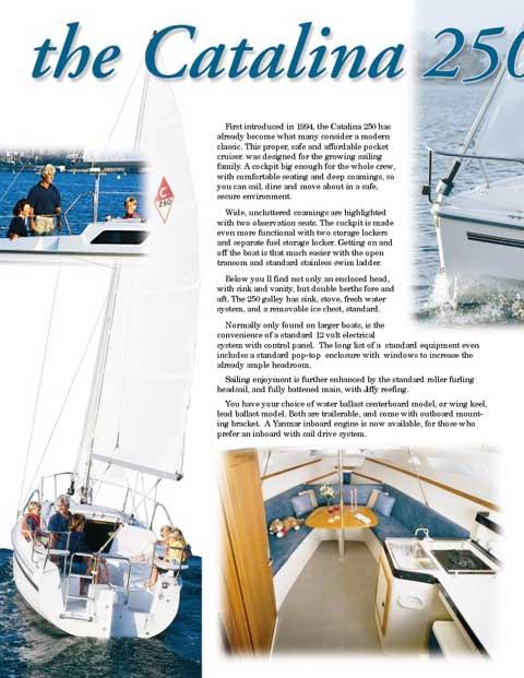 Catalina 250 Wing Keel, 2009 sailboat