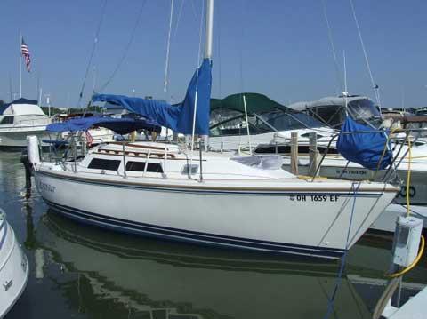 Catalina 25, 1989, Findlay, Ohio, sailboat