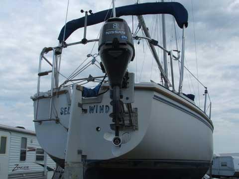 Catalina 25, mid 80s sailboat