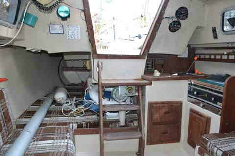 Catalina 25, 1984 sailboat