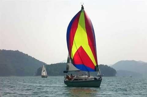 Catalina 270, 1993, Watauga Lake, Hampton, Tennessee sailboat