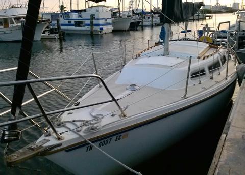 Catalina 27 Tall Rig, 1983, Key West, Florida sailboat