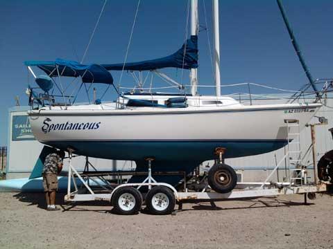 Catalina 27, 1982, Lake Pleasant, Arizona sailboat