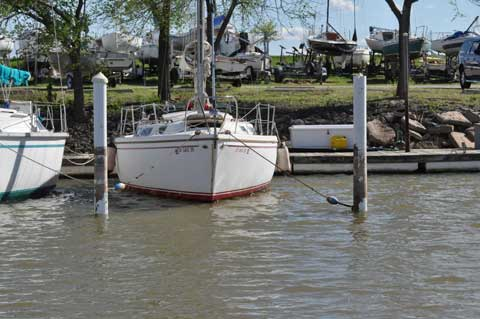 Catalina 30, 1975, Oklahoma City sailboat