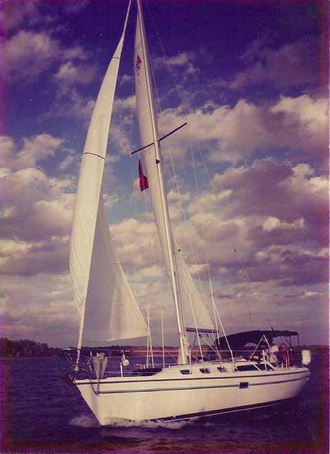 Catalina 34 MkII, 1998 sailboat