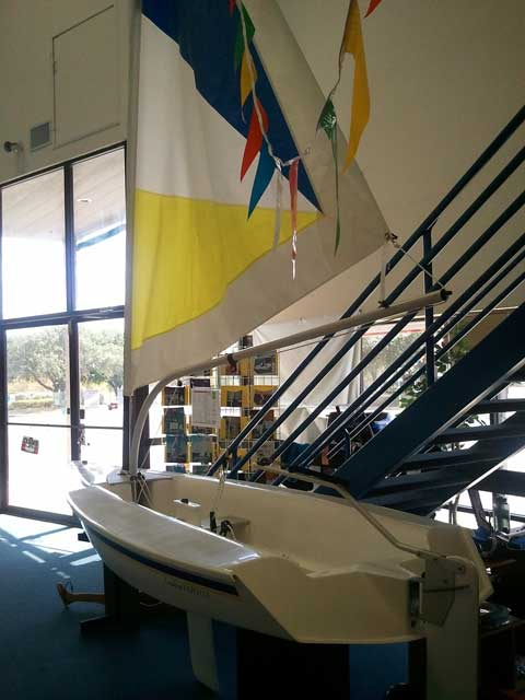 NEW Catalina 12.5 EXPO, Austin, Texas sailboat