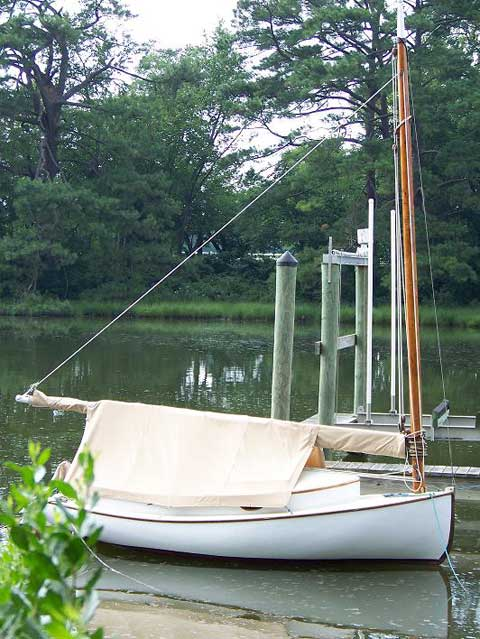 Wooden Catboat, 14 ft. 6 in., 1976 sailboat