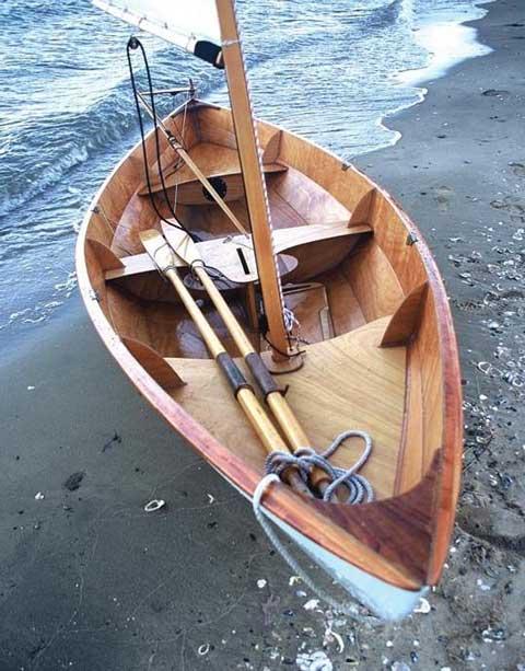 CLC Skerry Sailing/Rowing dory, 15', 2003, Flint, Michigan sailboat