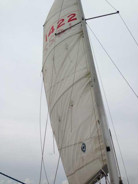 Chrysler 22, 1976 sailboat
