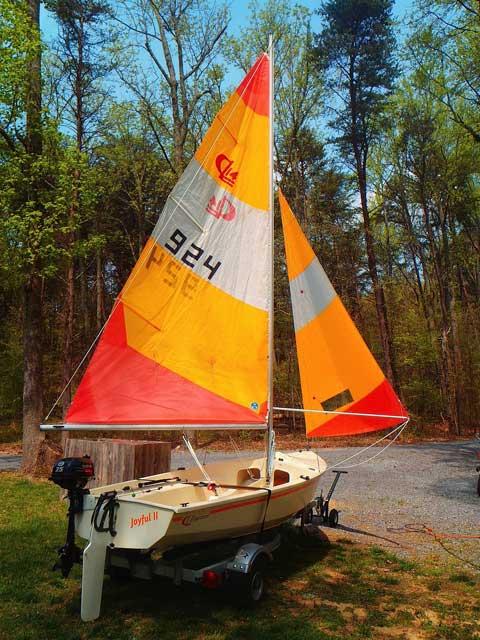 CL14, 1981, Mentone, Alabama sailboat