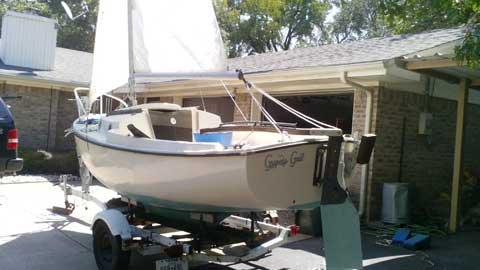 ComPac 16', 1977, Lake Whitney, Texas sailboat