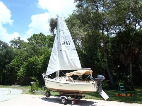 ComPac 16 sloop, 1981, Englewood, Florida sailboat