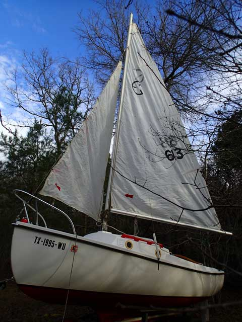 Hutchins 16', 1978, Temple, Texas sailboat