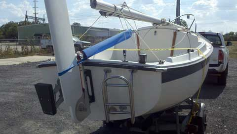 Compac 16, 1988 sailboat