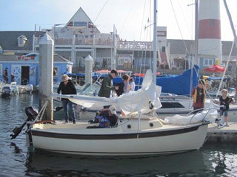 Compac Mk II, 1987 sailboat