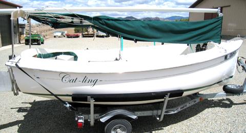 Hutchins Com-Pac Picnic Cat, 2007, Santa Fe, New Mexico sailboat