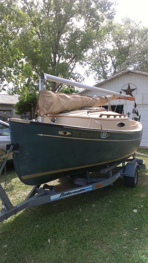 Com Pac Sun Cat, 2004, Possum Kingdom Lake, Texas sailboat