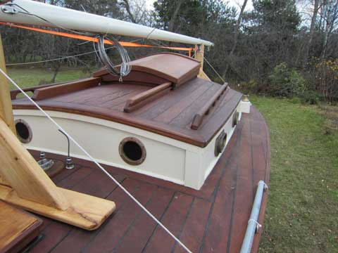 Wooden Sailboats For Sale >> Custom Wooden Cruiser 1960 Menominee Michigan Sailboat For Sale