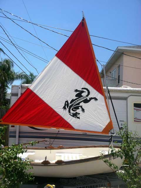 Sailing Dinghy, 9 ft., 1979, Palmetto, Florida sailboat