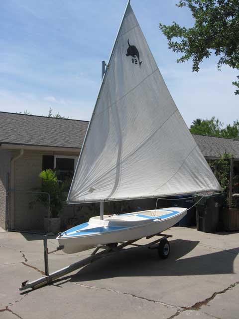 Dolphin Senior, pre-1973, Corpus Christi, Texas sailboat