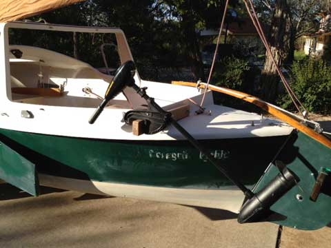 Phil Bolger Dovekie, 1983, Austin /Lake Travis, Texas sailboat